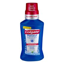 Colgate Peroxyl Mouth Sore Rinse, Mild Mint - 8.4 fl oz