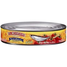 El Mexicano, Sardines in Chile Sauce, 15 oz