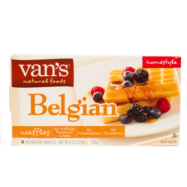 Van's Belgian Authentic Crispy Waffles