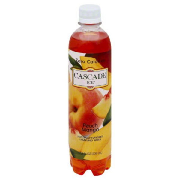 Cascade Ice Naturally Flavored Peach Mango Zero Calorie Sparkling Water