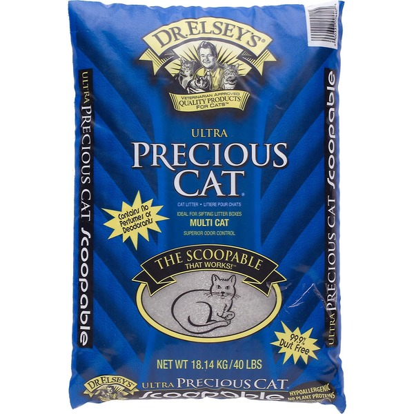 Dr. Elsey's Ultra Precious Cat Multi Cat The Scoopable That Works Cat Litter