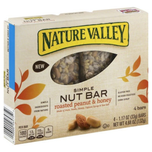 Nature Valley Simple Roasted Peanut & Honey Nut Bars