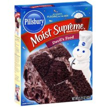 Pillsbury Moist Supreme Premium Devil's Food Cake Mix, 15.25 oz