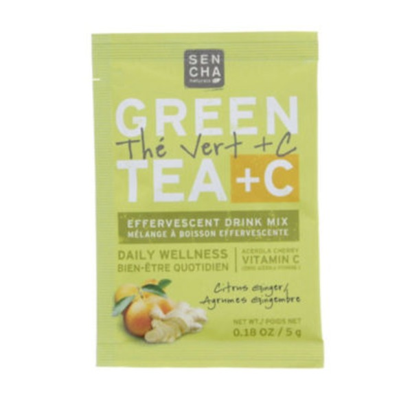 Sencha Naturals Green Tea + Citrus Ginger Pack