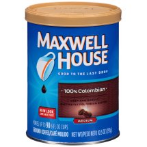 Maxwell House 100% Colombian Ground Coffee, 10.5 Oz Canister
