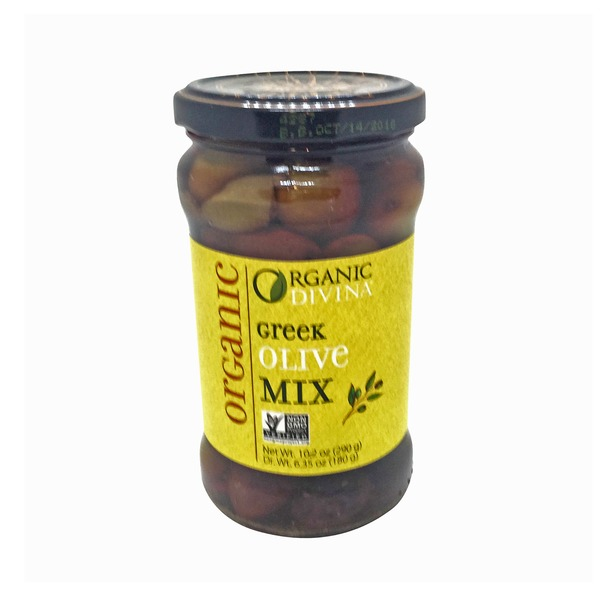 Organic Divina Organic Greek Olive Mix