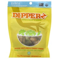 Dipperz Broccoli Cauliflower & Carrot Ranch Crunch Snack Mix