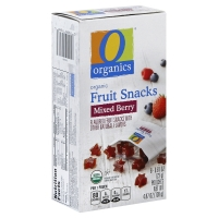 O Organics Fruit Snacks Mixed Berry