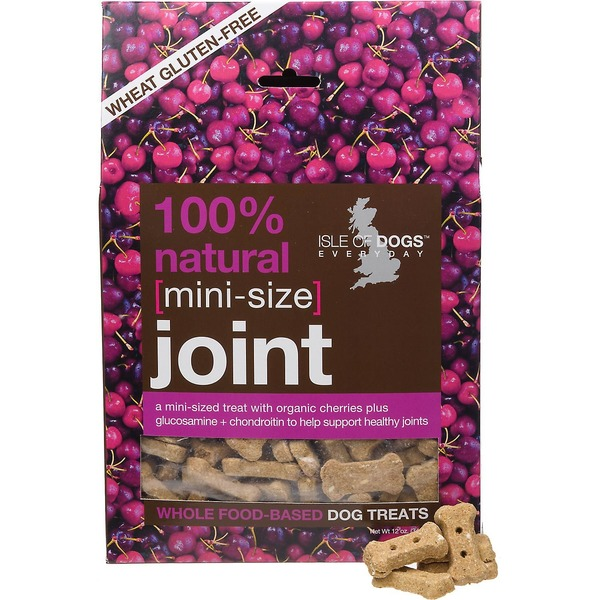 Isle of Dogs Dog Treats, Whole Food-Based, Joint, Mini-Size