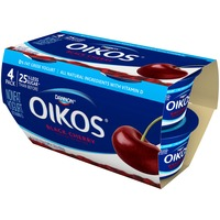 Oikos Fruit on the Bottom Greek Black Cherry Nonfat Yogurt