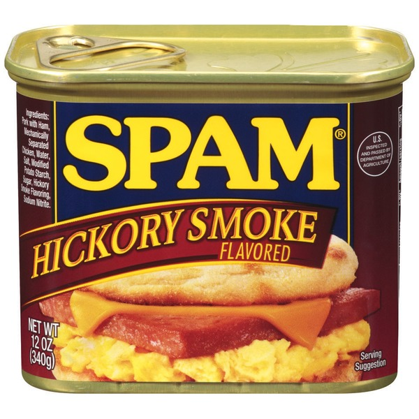 Spam Hickory Smoke Canned Meat