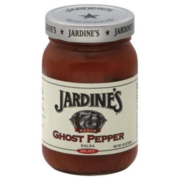 Jardines 7J Salsa Ghost Pepper XXX Hot