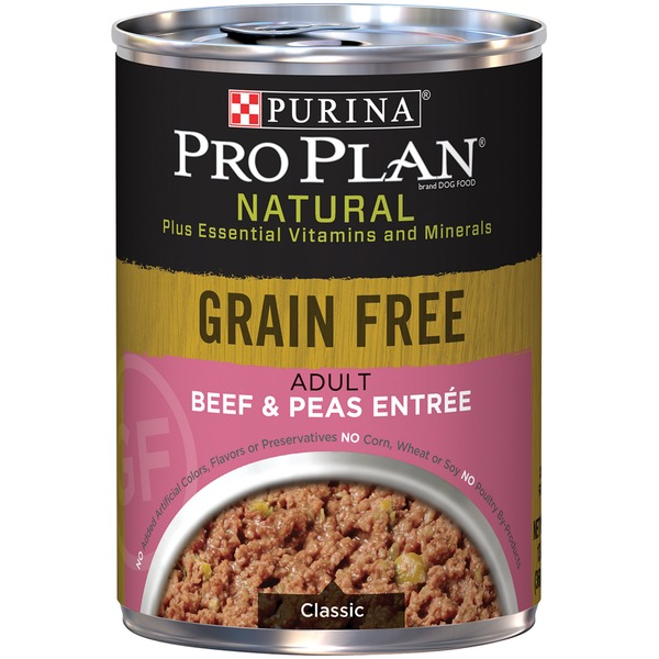Purina Pro Plan Select Classic Grain Free Beef & Peas Entree Canned Adult Dog Food