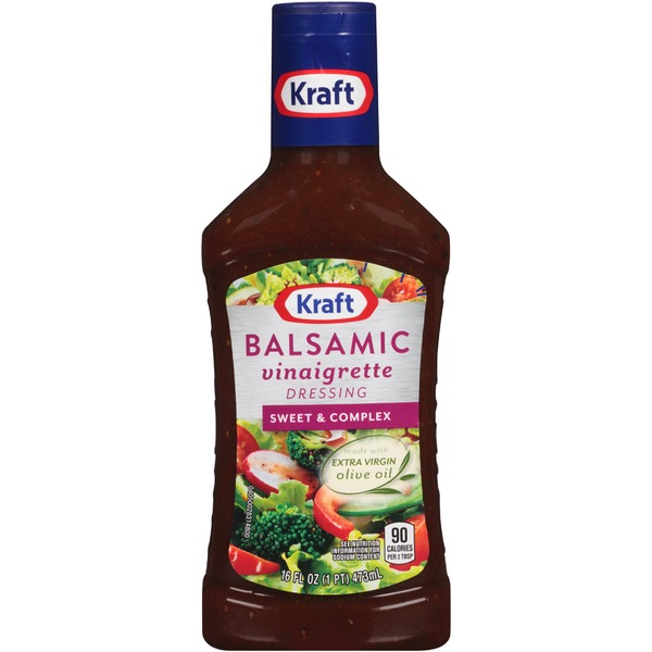 Kraft Salad Dressing Vinaigrette Balsamic Dressing