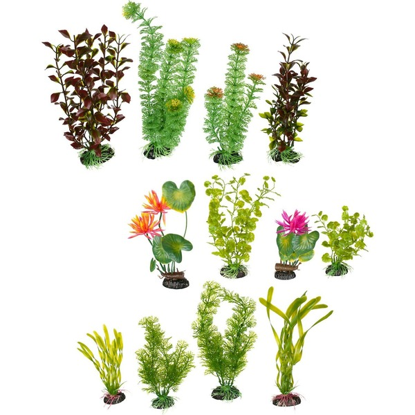 Petco Variety Pack Plastic Aquarium Plants