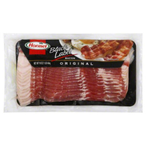 Hormel Black Label Original Bacon