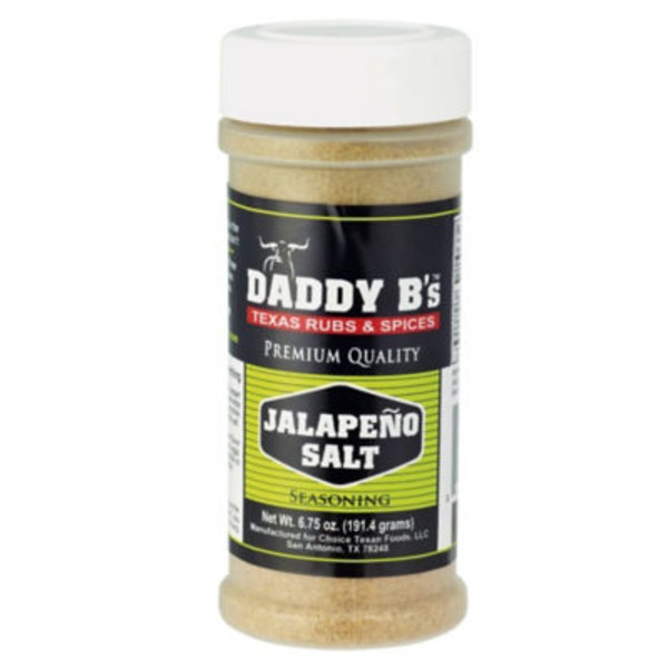 Daddy B's Jalapeno Salt Seasoning