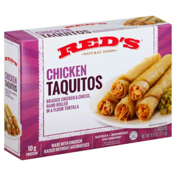 Red's Taquitos Chicken - 5 CT