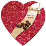 Russell Stover All Milk Assorted Fine Chocolates Decorative Heart