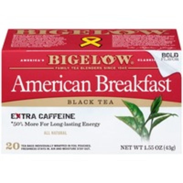 Bigelow American Breakfast Black Tea 1.55 oz Black Tea