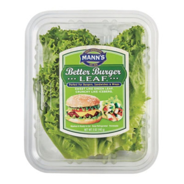 Mann's Better Burger Leaf Lettuce