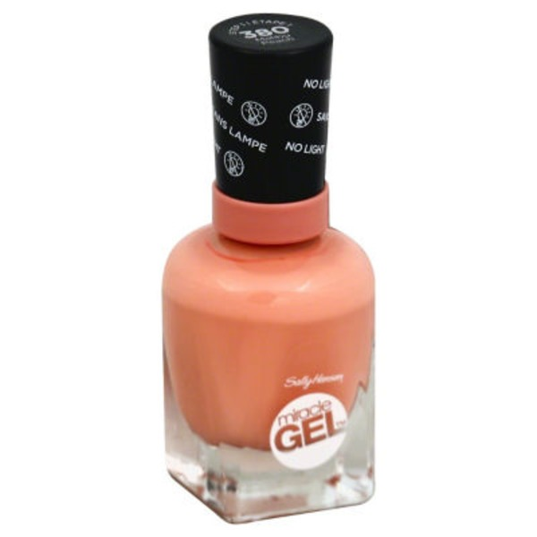 Sally Hansen Miracle Gel Nail Polish - Malibu Peach 380