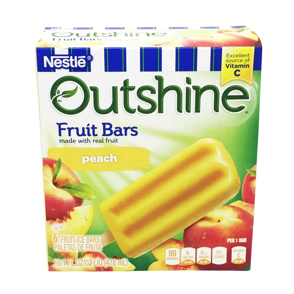 Edy's Outshine Peach Fruit Bar