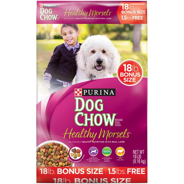 Dog Chow Healthy Morsels Bonus Size Dog Food
