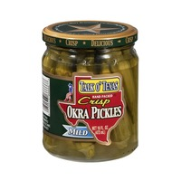 Talk O' Texas Okra Pickles Crips Mild