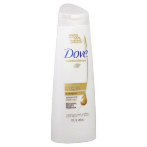 Dove Anti-Frizz Oil Therapy Shampoo