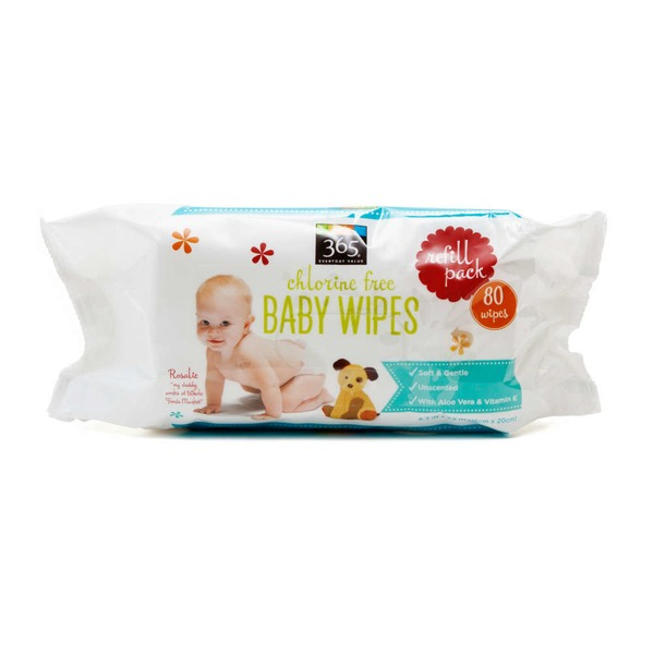365 Travel Baby Wipe