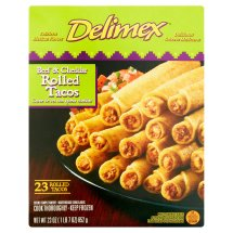 Delimex® Beef & Cheese Rolled Tacos 23 ct Box