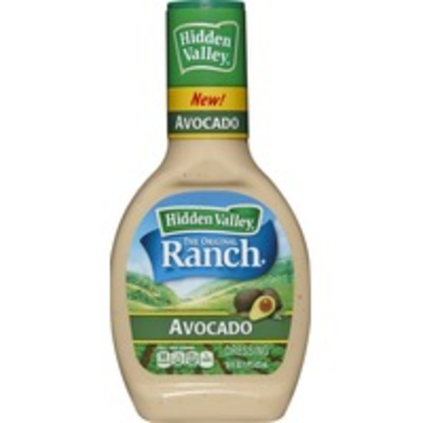 Hidden Valley Ranch Dressing Avocado