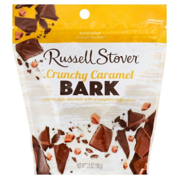 Russell Stover Bark Crunchy Caramel