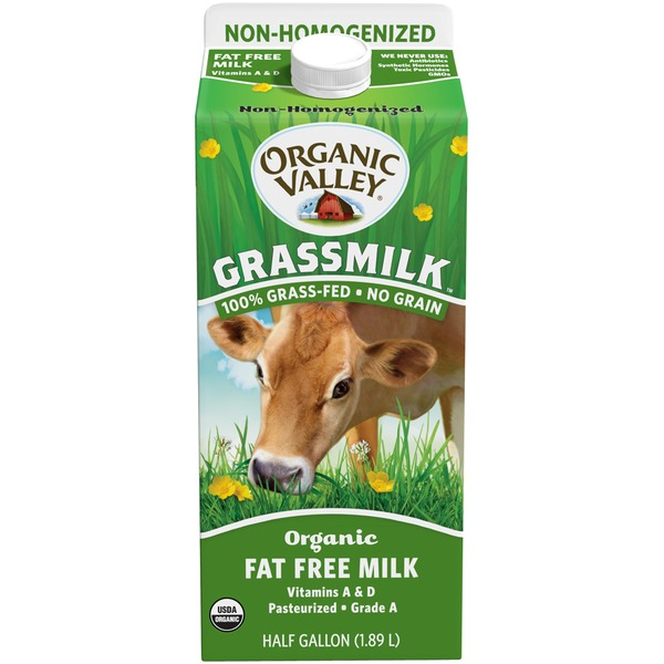 Organic Valley Grassmilk Organic Fat Free Milk