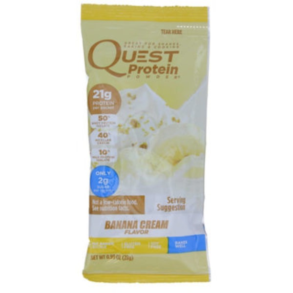 QuestBar Banana Cream Protein Powder Bar