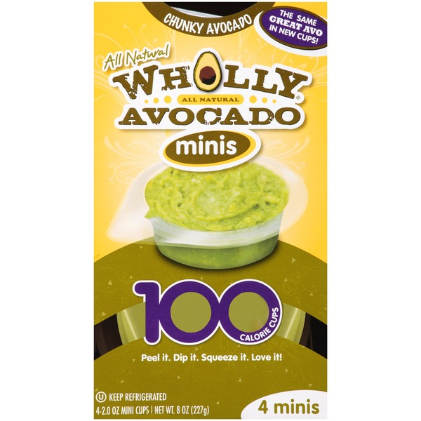 Wholly Guacamole Minis Chunky Avocado