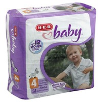 H-E-B Baby Jumbo Pack Diapers Size 4