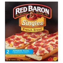 Red Baron Singles French Bread Pepperoni Pizza - 2 CT