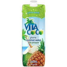 Vita Coco Pure Coconut Water with Pinneapple, 1 L