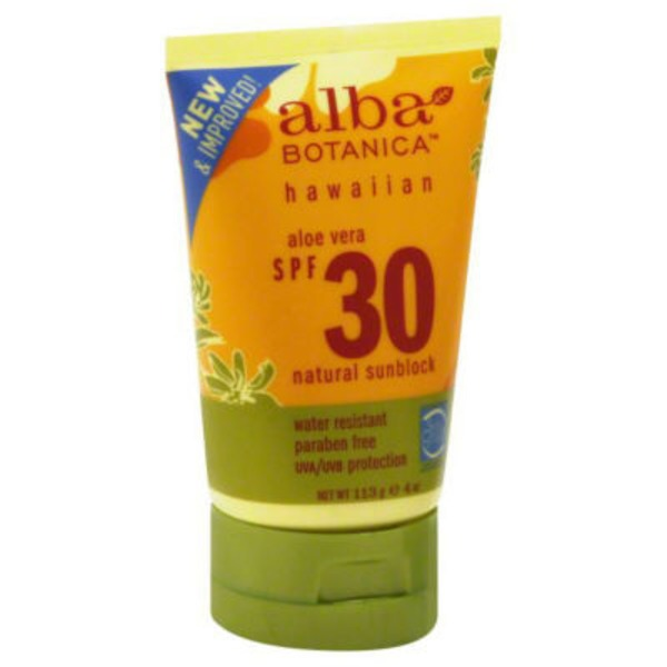 Alba Botanica Hawaiian Sunscreen SPF30