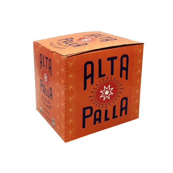 Alta Palla Organic Blood Orange Sparkling Beverage