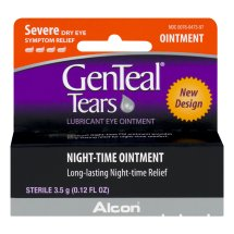 GenTeal Tears Severe Dry Eye Relief Night-Time Ointment, 0.12 FL OZ