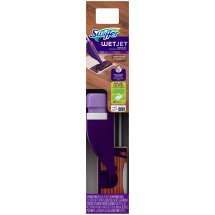 Swiffer Wet Jet Wood Floor Mop 11 pc Starter Kit