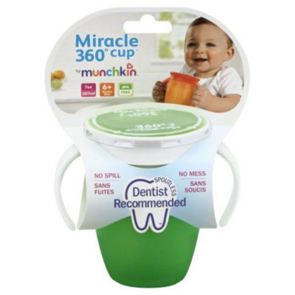 Miracle Maize Munchkin Miracle Spoutless 360 Cup