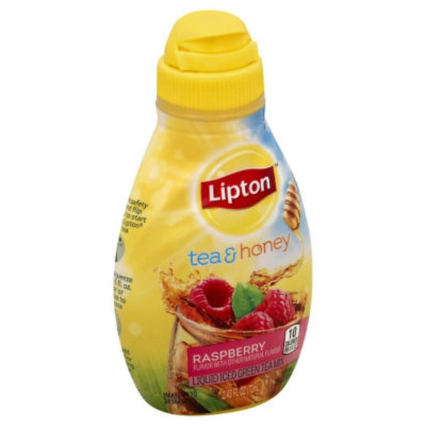 Lipton Raspberry Liquid Iced Green Tea Mix