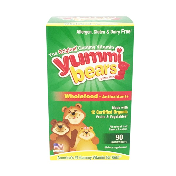 Yummi Bears Gummy Bears Wholefood + Antioxidants