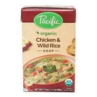 Pacific Organic Chicken & Wild Rice Soup