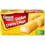 Great Value Golden Creme Cakes
