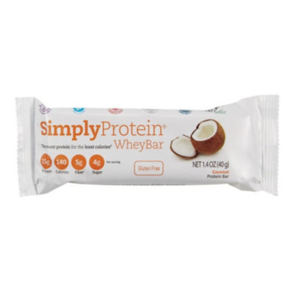 Simply Protein Coconut Whey Bar